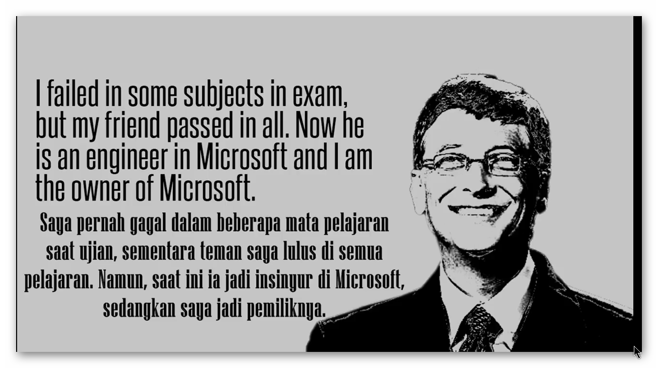 Kata Kata Motivasi Bill Gates Yang Menginspirasi Tips Dan Informasi
