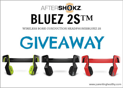 Wireless Headphones - Aftershokz BLUEZ 2S Headphones - Giveaway