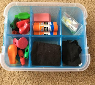 A grab and go occupational therapy toolkit helps the school based OT with organization while meeting a variety of OT goals to address therapy goal areas.