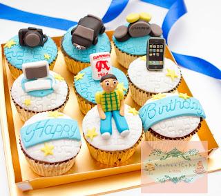 Mechanicake Bday Cupcake Set For Nidia S Boyfriend