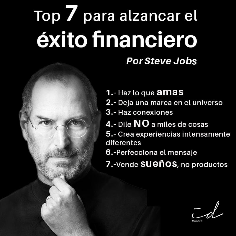 7 pasos para el exito financiero