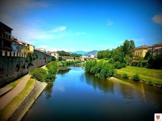 Imamgine - Fiume Bisenzio dal Ponte Mercatale
