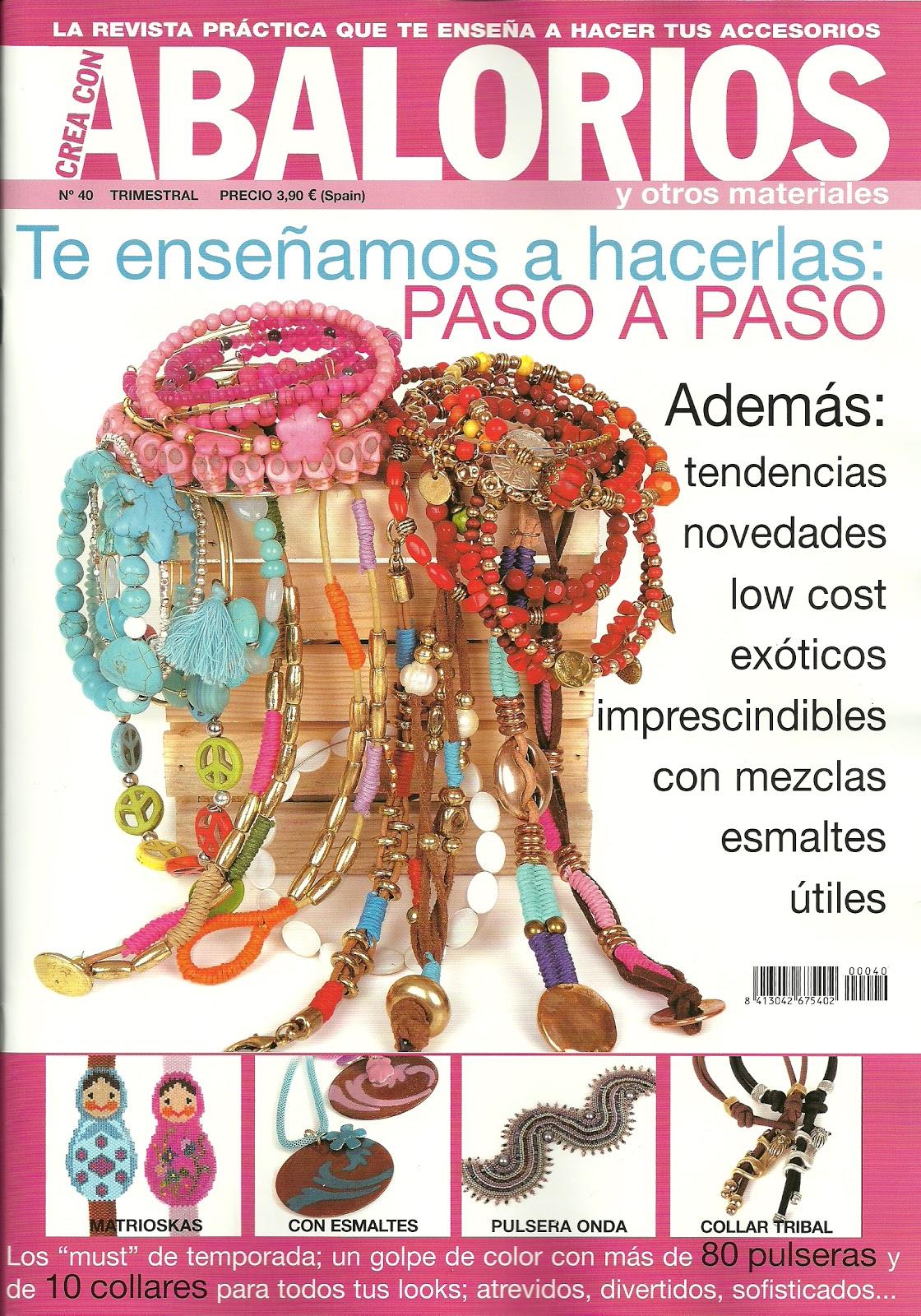 e4657e6c85f6 ABALORIOS Y OTRAS JOYAS ! !: Crea con abalorios Nº 40