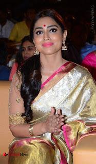 Actress Shriya Saran New Images in Silk Saree at Gautamiputra Satakarni Audio Launch  0021.jpg