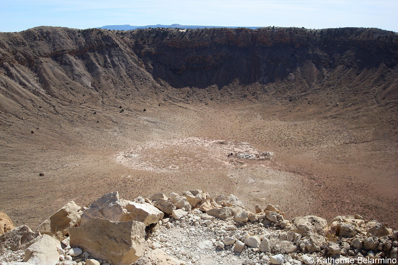 Meteor Crater Arizona Route 66 Road Trip Attractions