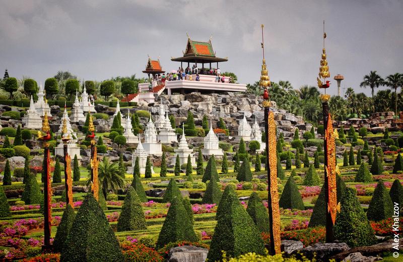 Ландшафтный дизайн в Нонг Нуч
