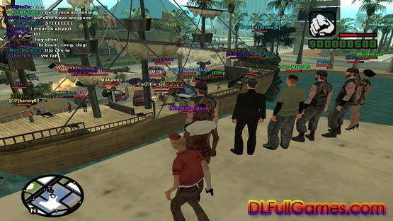 GTA San Andreas Multiplayer Pc Game Free Download
