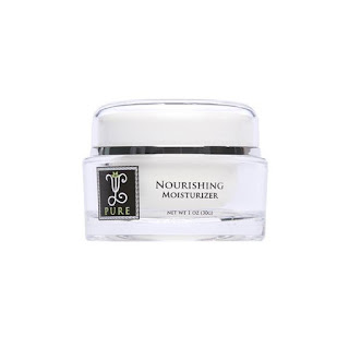 a jar of VL PURE Nourishing Moisturizer