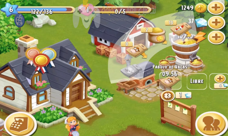 تحميل لعبة المزرعة السعيدة Happy Farm