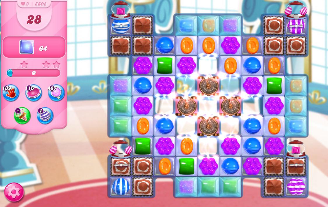 Candy Crush Saga level 5598