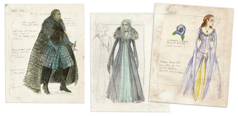The Costumes Of Game Of Thrones Designing The Middle Ages At The Getty Center