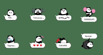Panda Text