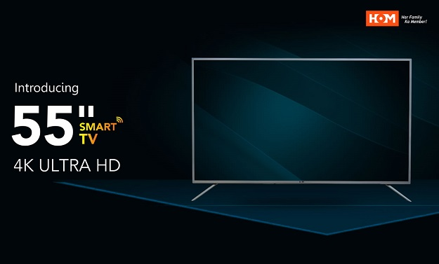 "HOM 55"" Smart LED 4K TV - Full Hardware Specs, Features, Price and Review"