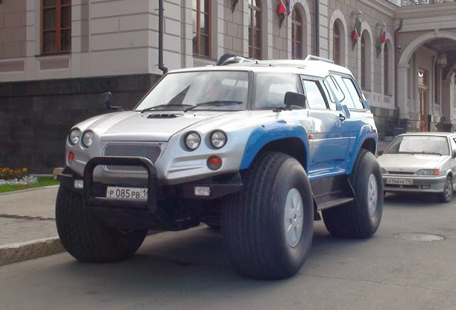 russian offroad vehicle