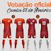América de Rio Preto abre votação para escolha de novas camisas