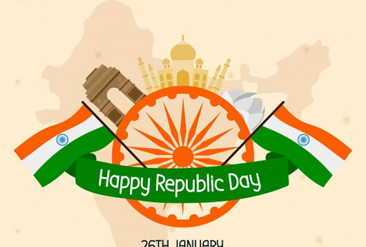 Happy Republic Day! Let's Smile With People Around Us and Make Happy India.