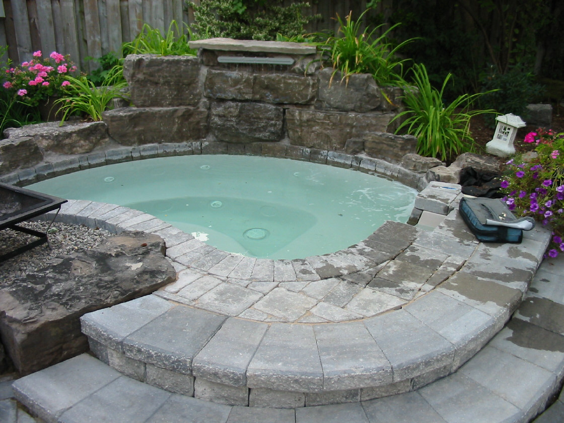Commit Outdoor hot tub sex