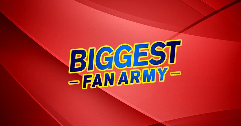 BIGGEST FAN ARMY