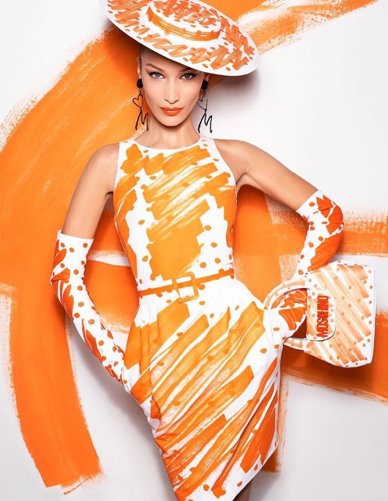 Bella Hadid stars in Moschino spring-summer 2019 campaign