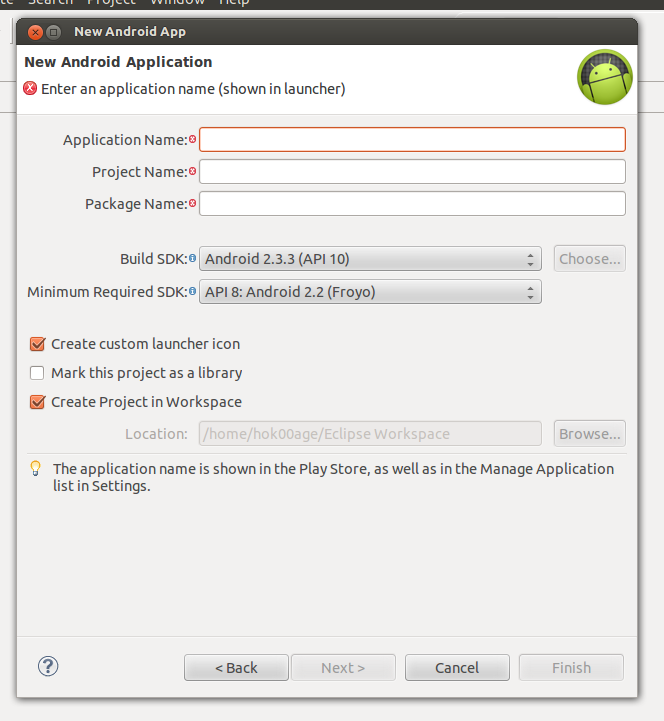 Ubuntu Buzz !: How To Setup Android SDK with Eclipse on