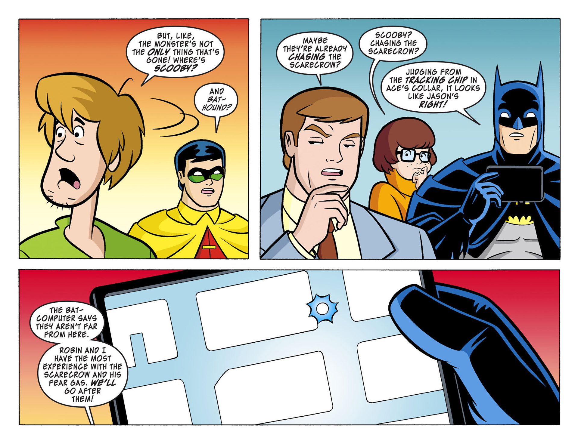 Read online Scooby-Doo! Team-Up comic -  Issue #4 - 11