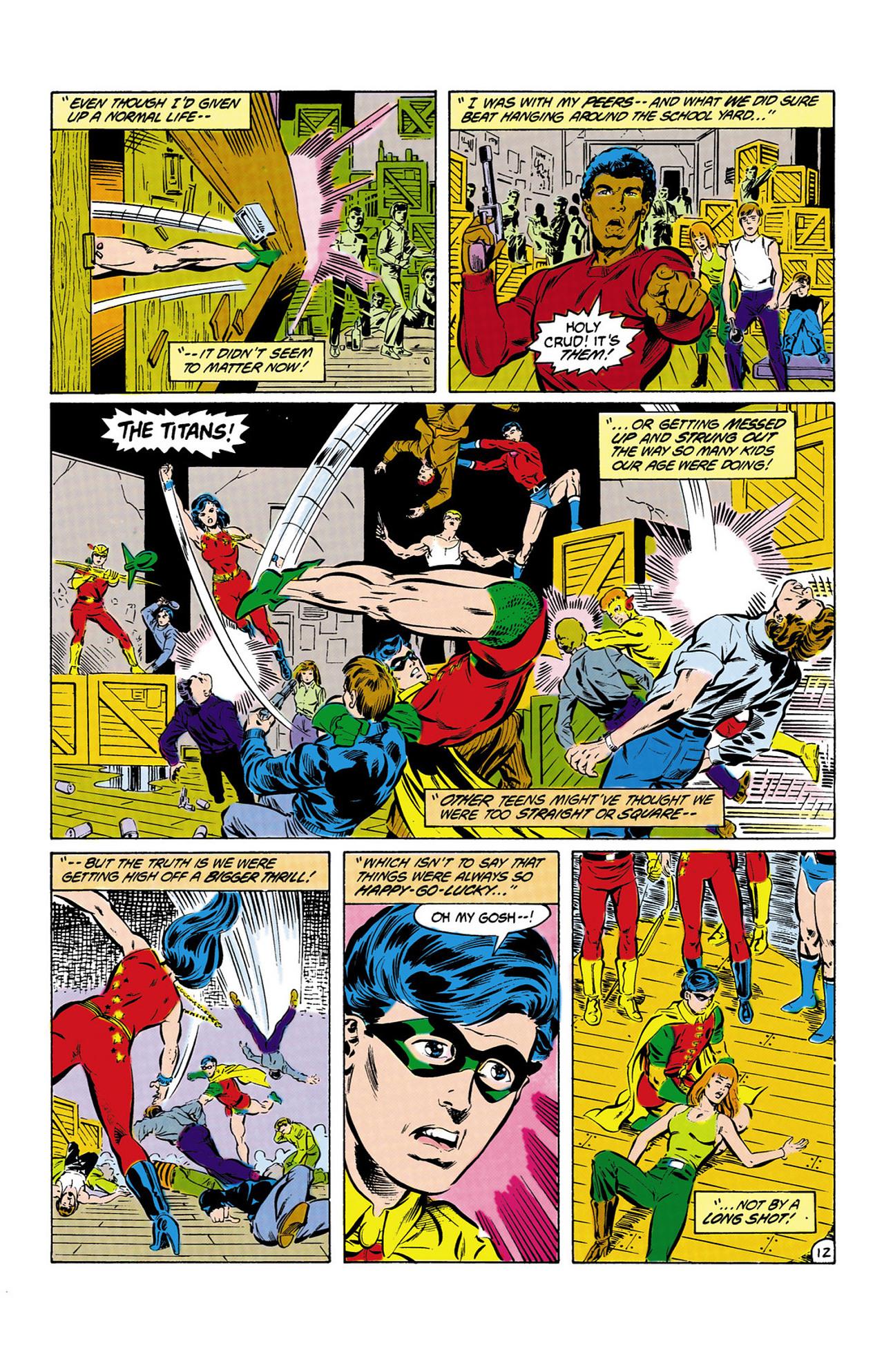 Read online Secret Origins (1986) comic -  Issue #13 - 13
