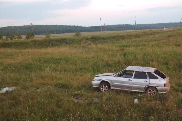 В Туймазинском районе двое подростков устроили ДТП : один из них погиб
