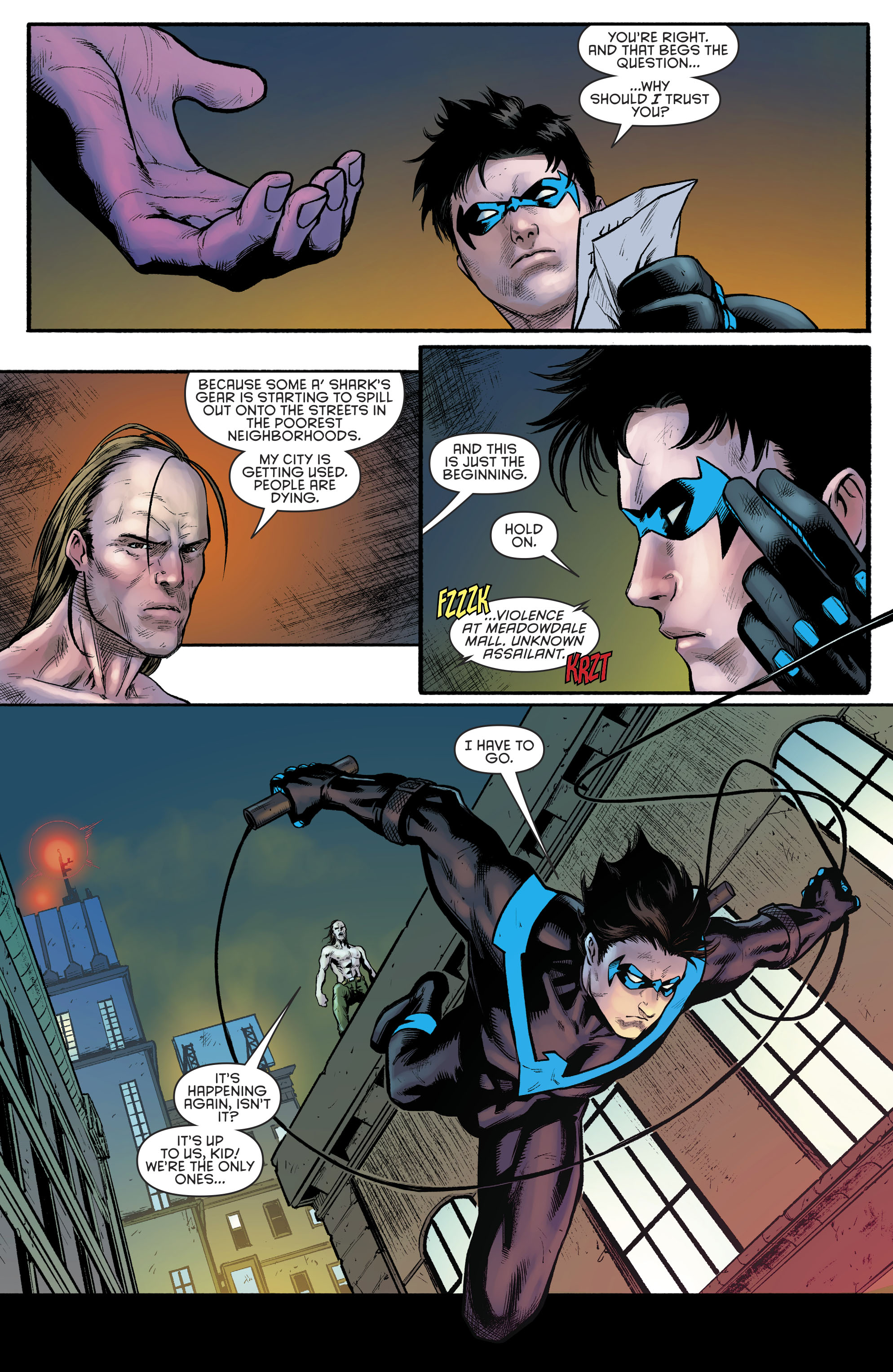 Read online Nightwing (2016) comic -  Issue #23 - 8