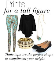 Prints For a Tall Figure @ Boo Hoo