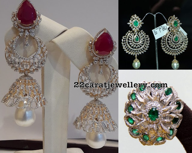 Diamond Tops and Jhumkas