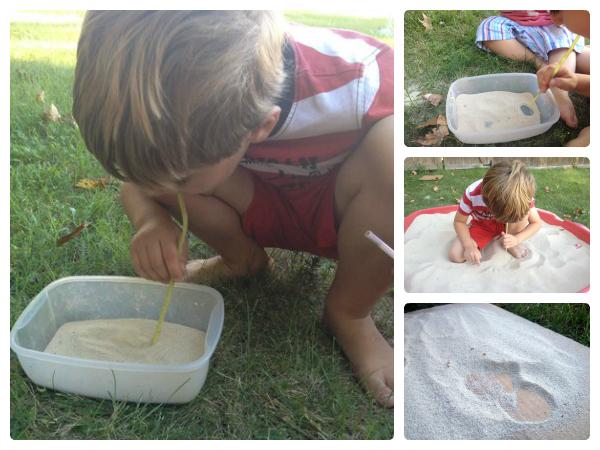 sand dune activity for kids