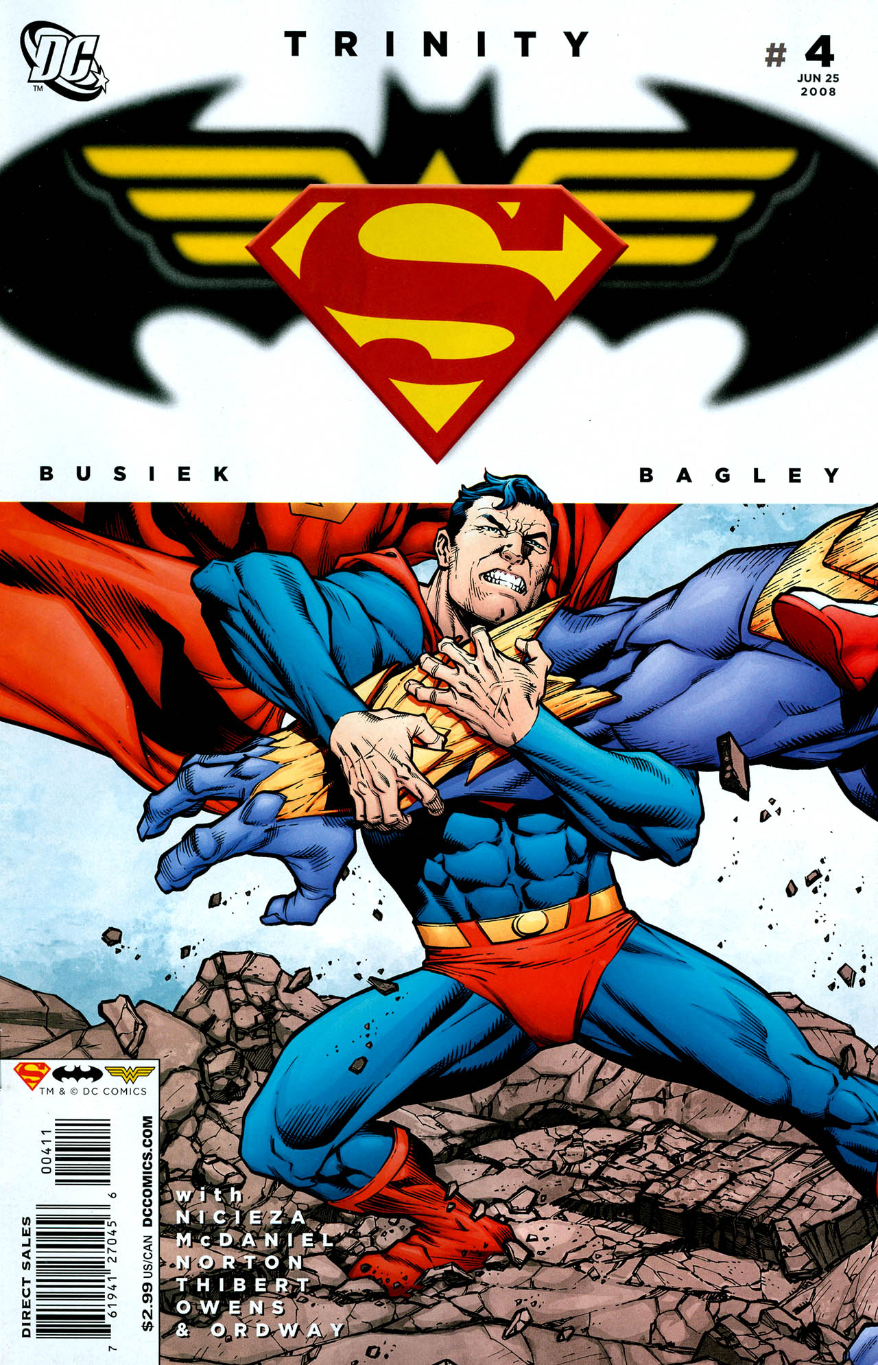 Read online Trinity (2008) comic -  Issue #4 - 1