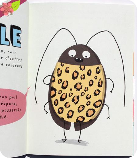 Le cafard d'Elise Gravel - éditions Le Pommier