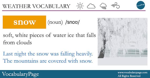 Snow Definition