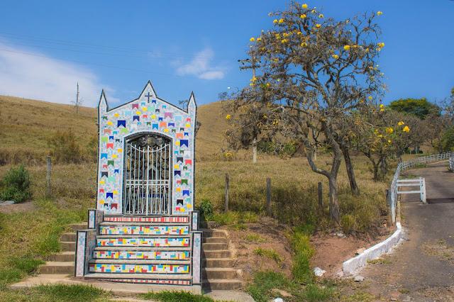 Capelinha em São Bento do Sapucaí, na Serra da Mantiqueira