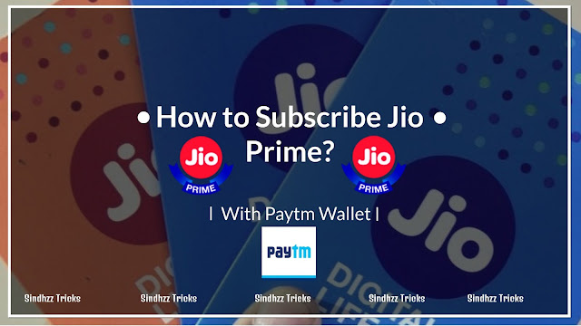 How to Subscribe JIO Prime Membership With Paytm