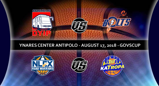 List of PBA Games: August 17 at Ynares Center 2018 PBA Governors' Cup