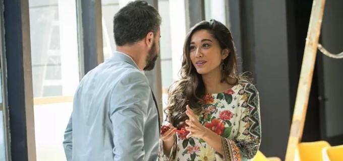Bernardo, em Sol Nascente da TV Globo, apresenta marido e decepciona Yumi