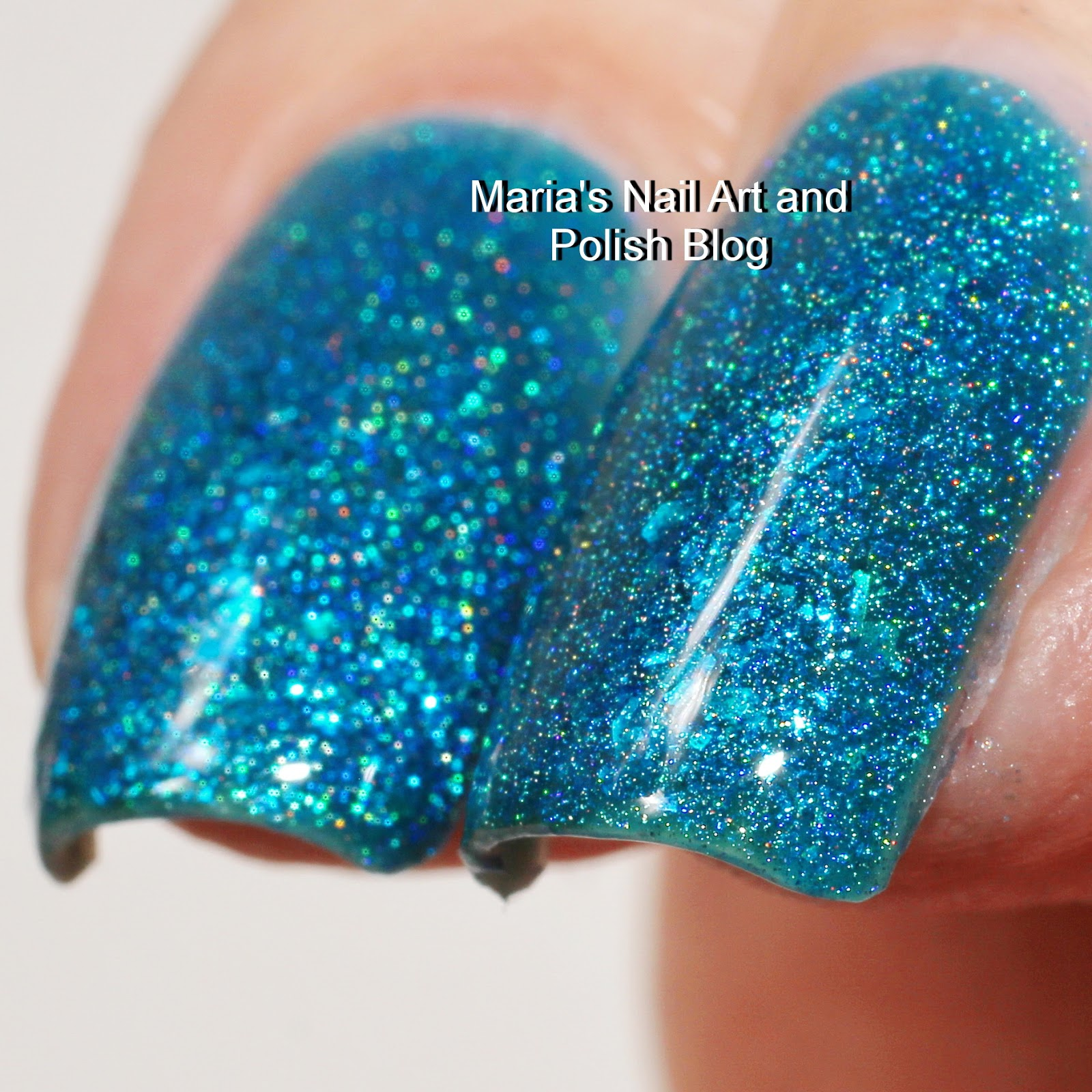 Marias Nail Art And Polish Blog Flushed With Stripes And: Marias Nail Art And Polish Blog: Glam Polish Lehua, Moana