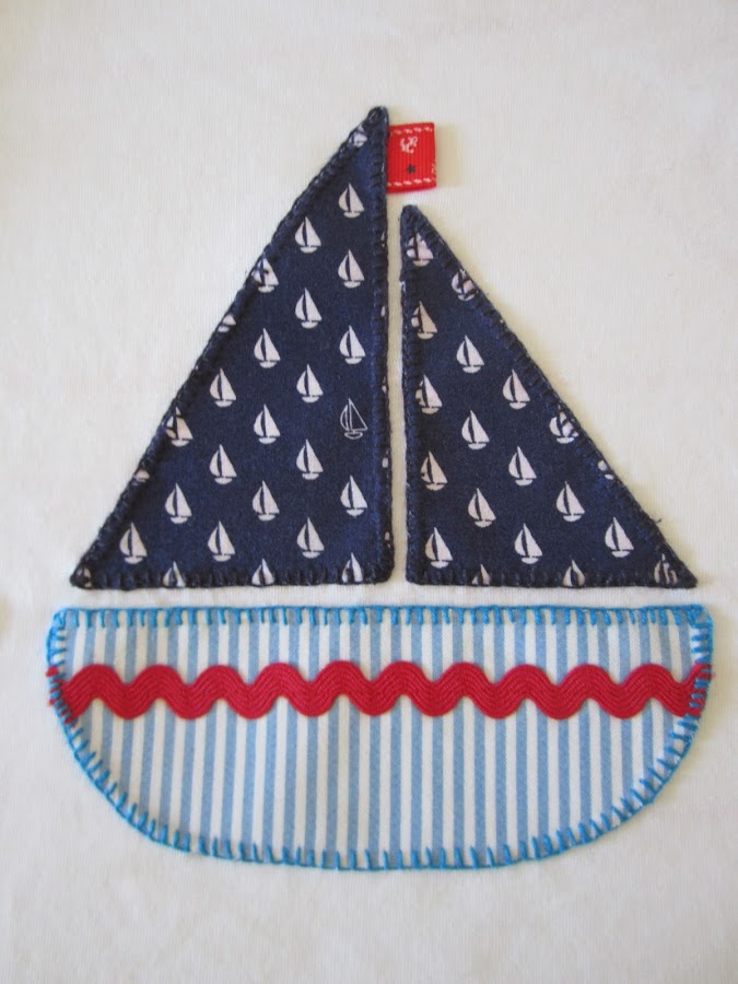 mis nancys, mis peques y yo, tutorial aplique fácil camiseta barco