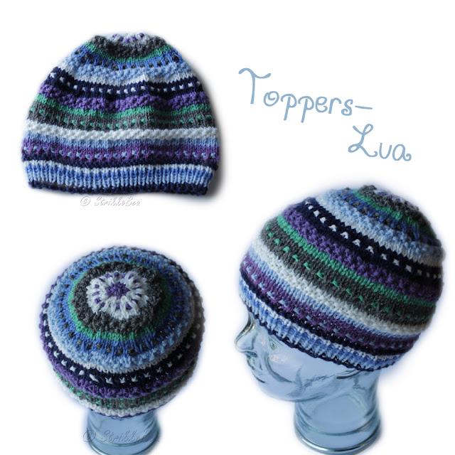 Toppers-Lua etter gratisoppskrift fra Strikke-Tita Design