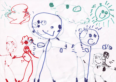 Resultado de imagen de dibujo de un niño sobre el espacio