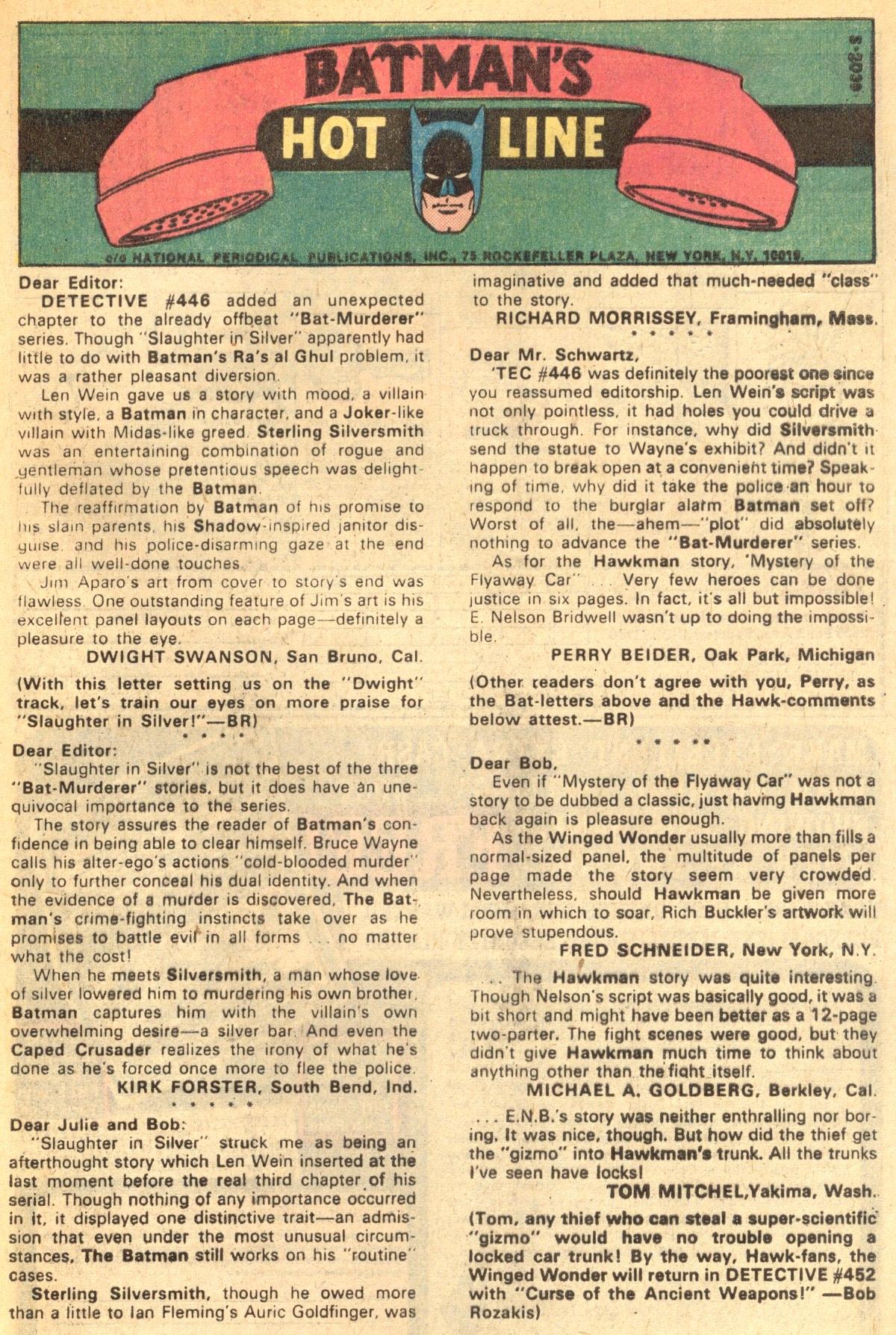 Detective Comics (1937) 450 Page 32