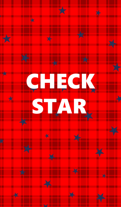 Check patterns and star.
