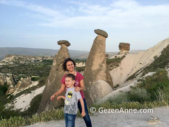Üç güzeller peri bacaları, Ürgüp Kapadokya