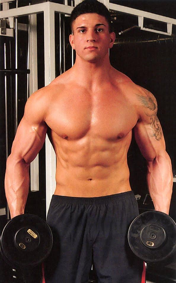 Brutal Caucasian Handsome Fitness Men On Diet Training