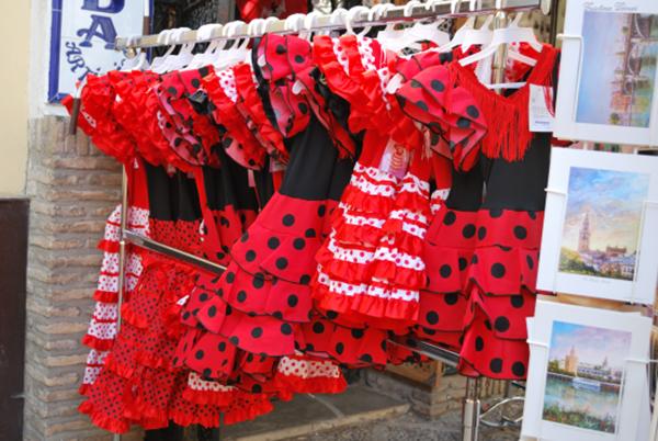 flamenco dress seville spain shop