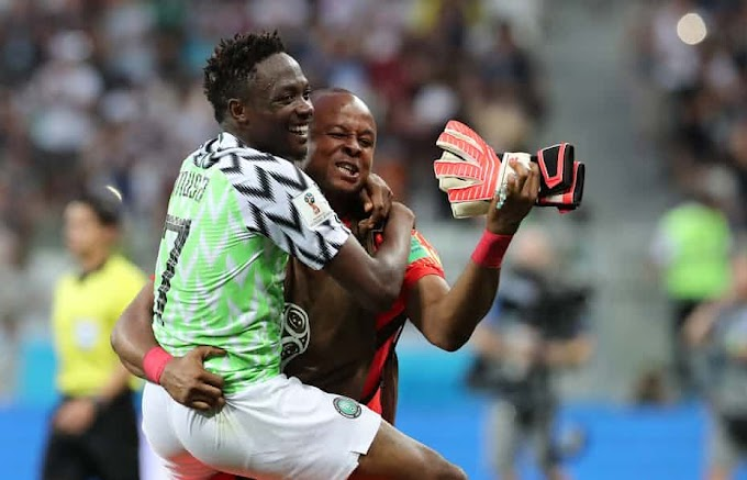 Watch Video: Musa made Nigeria Proud For Scoring Two Goals As Nigeria Won 2-0 Iceland