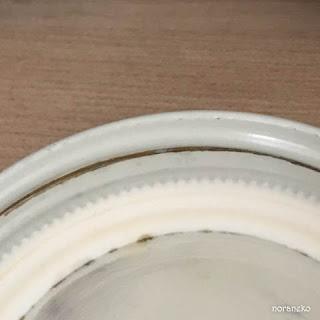 100均の瓶の蓋|コーティング剥がれ