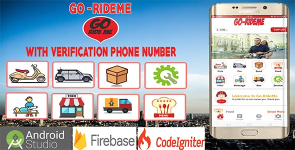 Gorideme - Multi Service Providing App With OTP Verification Phone Number
